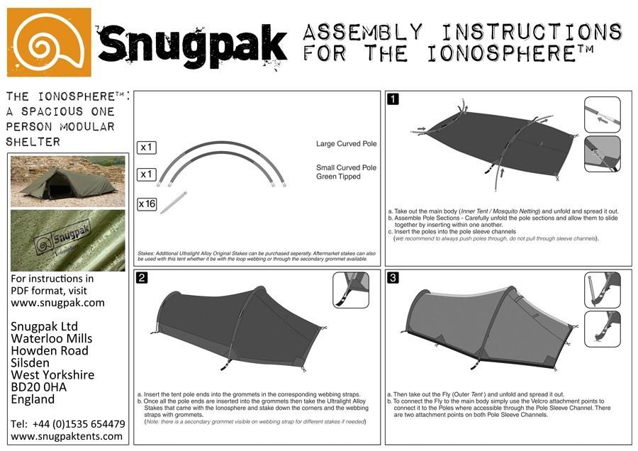 Durability  sc 1 st  expertbackpacker.com & Snugpak Ionosphere 1 Person Tent Review | expertbackpacker.com